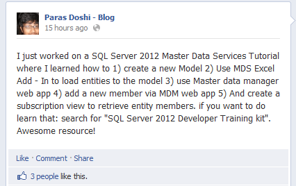 MDS SQL Server 2012 master data services tutorial