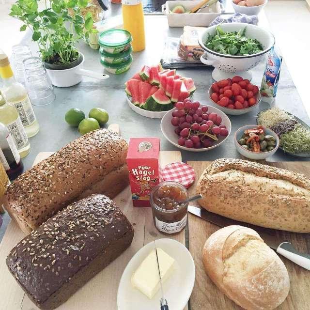Lunch is being prepared by kersoptaart Workshop in progress workshophellip