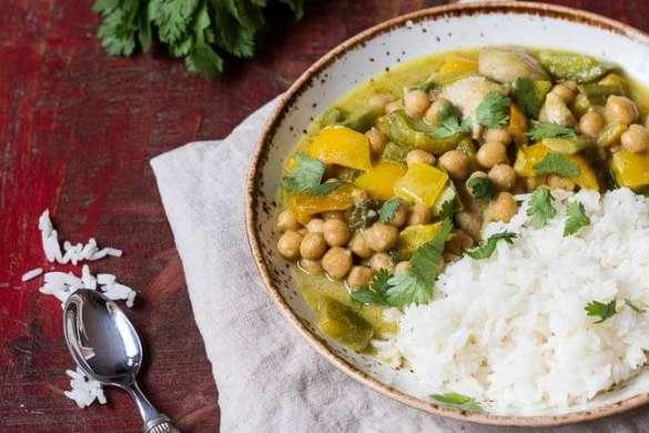 Green dude curry | insimoneskitchen.com