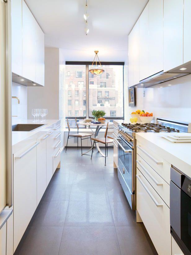 decoracion de cocinas pequeñas y alargadas