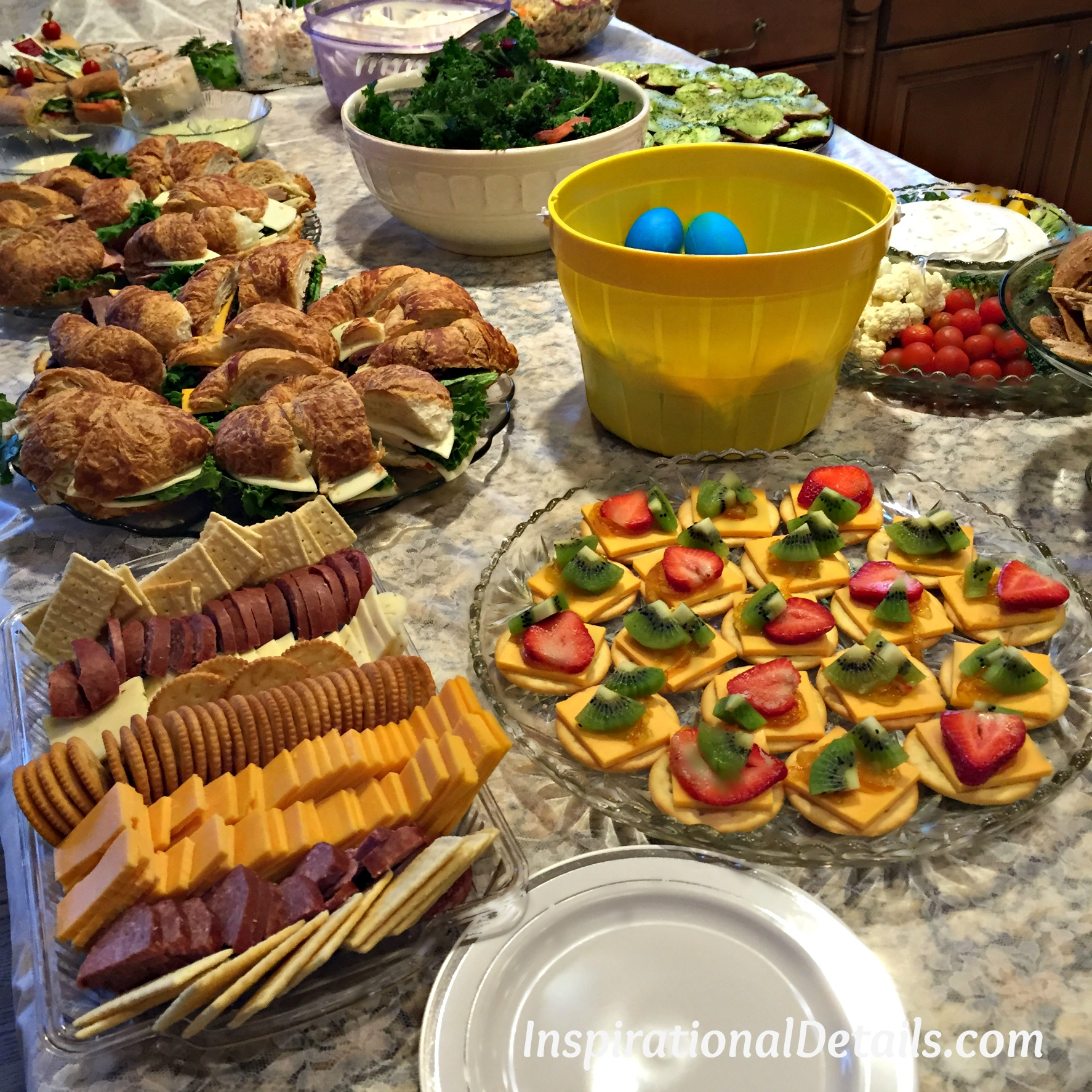 Fullsize Of Bridal Shower Food