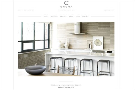 croma design website1