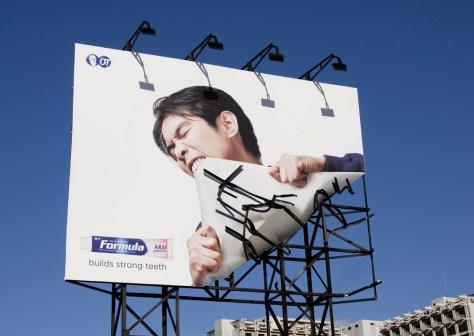 Formula Toothpaste Billboard