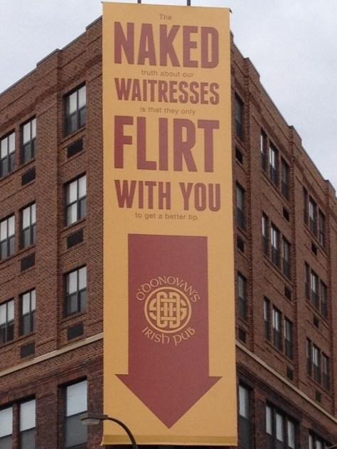Irish Pub Billboard