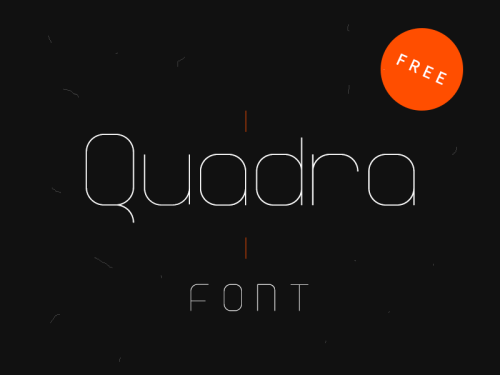 quadra type by eduardo higareda 50 Free Fonts Youll be Tempted to Download