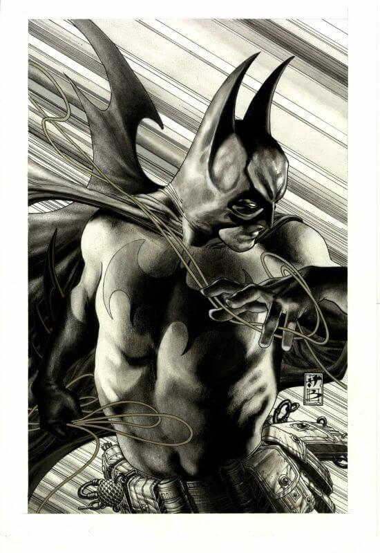 TEC cover(batman mezzo busto)