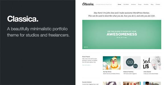 Creative Wordpress Portfolio Theme