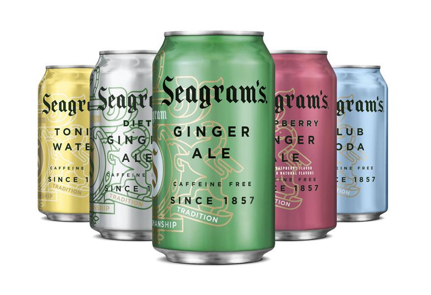 ginger ale graphic design