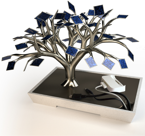Solar Panel Tree Charger