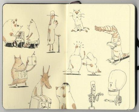 Moleskine Sketch 29
