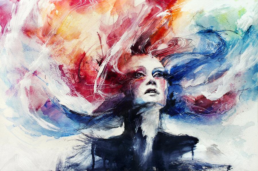 Colorful Watercolor Art