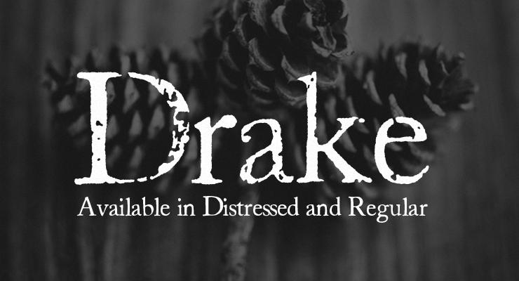Distressed Vintage Font