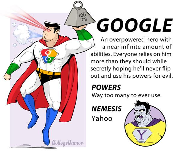 Google Super Hero