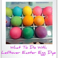 What to Do with Leftover Easter Egg Dye