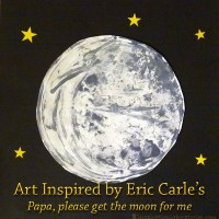 Papa, Please Get the Moon for Me {Happy Birthday Eric Carle}