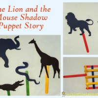 The Lion and the Mouse Shadow Story