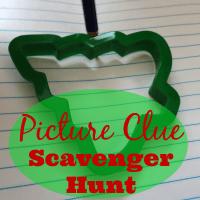 Picture Clue Scavenger Hunt