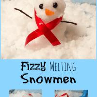 Fizzy Melting Snowman