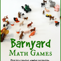 Barnyard Math Games {Giles Andreae Virtual Book Club for Kids}