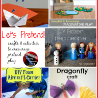 The Sunday Showcase - Pretend Play Crafts & Activities