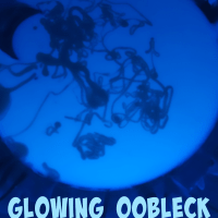 Glowing Oobleck - An Easy Slime Recipe