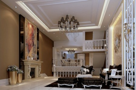 clic french modern living room interior design
