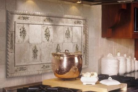 creative kitchen backsplash tile design