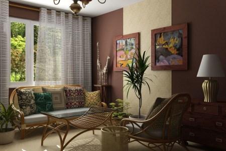 ethnic home interior design ideas
