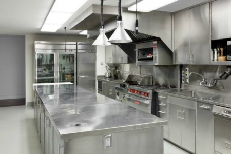 stainless steel kitchen design ideas
