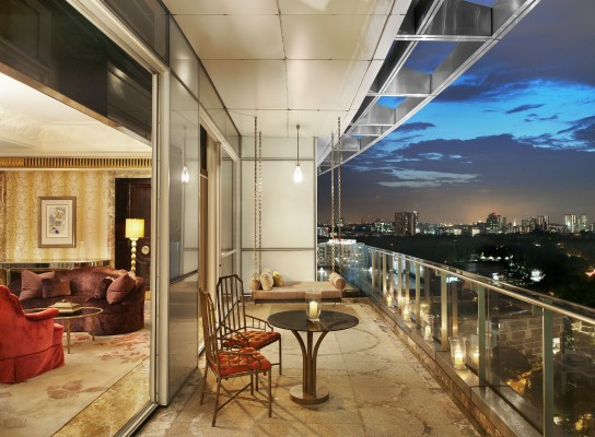 The St. Regis Singapore Presidential Suite Balcony