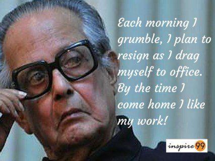 r.k.laxman quotes, laxman inspiration, laxman on work, laxman quotes on life