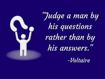 judge a man by his questions quote and meaning, judge a man quote and meaning, judging someone by questions, judging voltaire quote and meaning