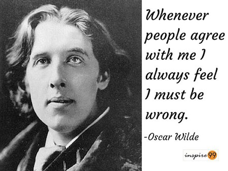 people agree with me quote, oscar wilde quote, oscar wilde quote meaning, oscar wilde quote collection