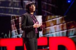 Nadia Lopez speaks at TED Talks Live - Education Revolution, November 2, 2015, The Town Hall, New York, NY. Photo: Ryan Lash/TED