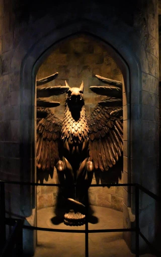 Entrance to Dumbledore's Office
