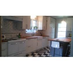 Extraordinary Ikea Vintage Kitchen An Ikea Kitchen Vintage Touches Stoves Kitchen