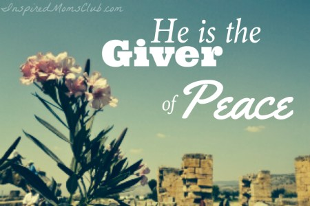 He is the Giver of Peace