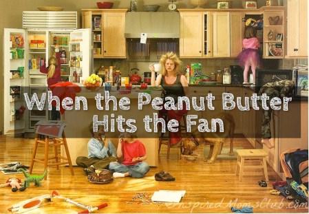 When the Peanut Butter Hits the Fan