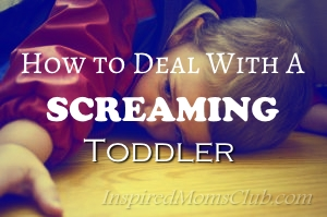 How to Deal with a Screaming Toddler