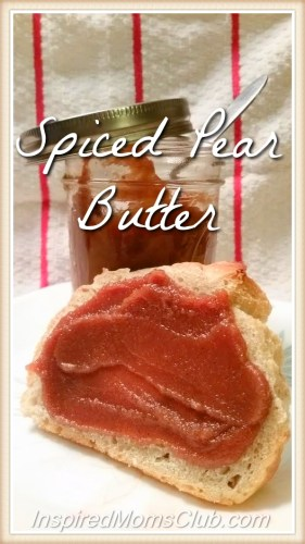 Recipe: Spiced Pear Butter