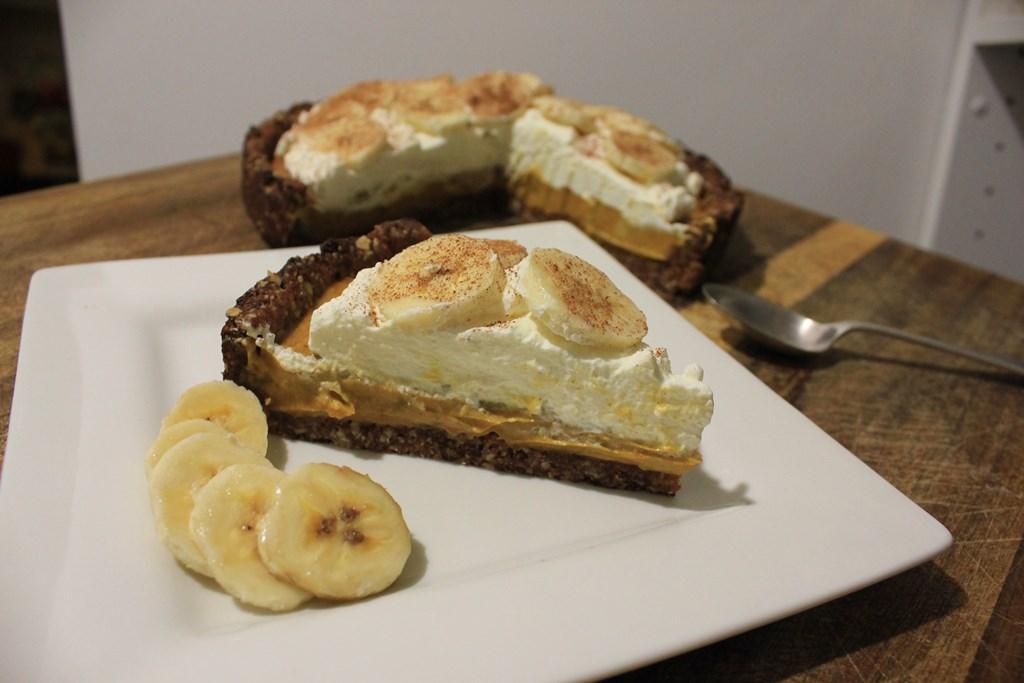 Sugar-free banoffee pie
