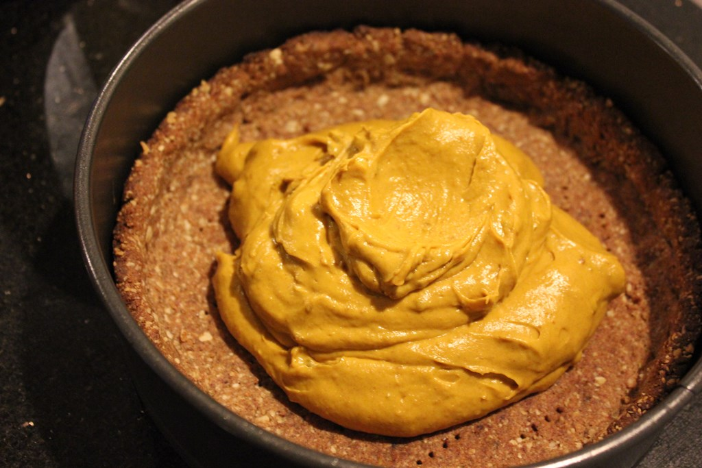 Sugar-free banoffee pie caramel  filling