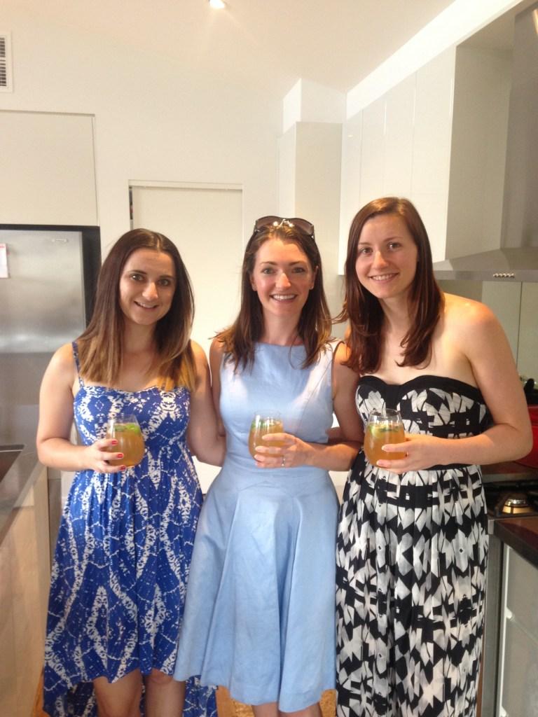 Aimee, Kate and Amanda