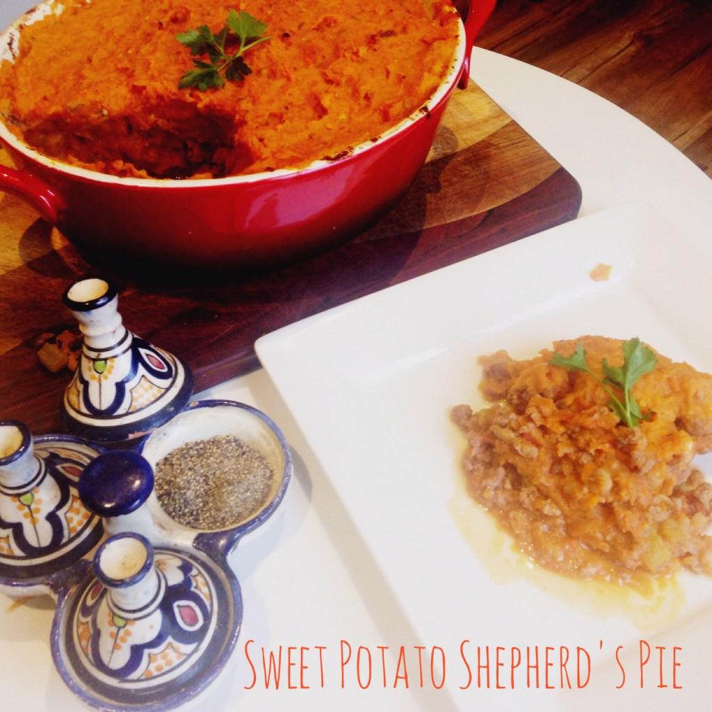 Sweet potato shepherd's pie - a paleo alternative to the country classic