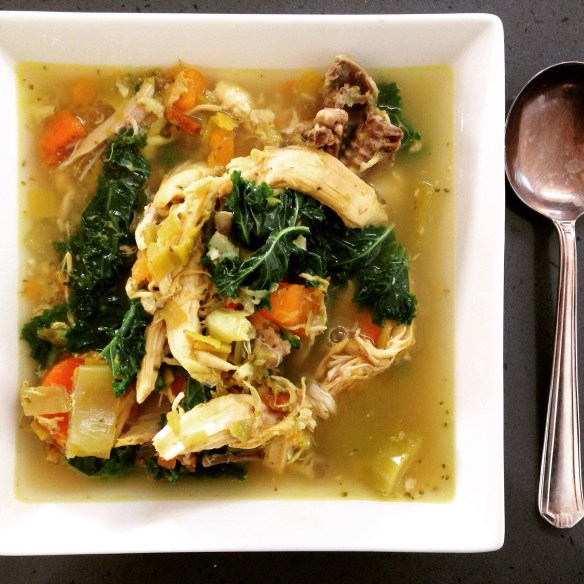 Simply the best: healthy chicken soup is a winter wonder food