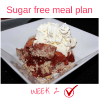 Button - Inspired Mood Sugar free meal plan Week 2