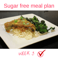 Button - Inspired Mood Sugar free meal plan Week 3