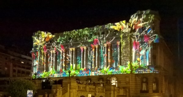 Video mapping Military