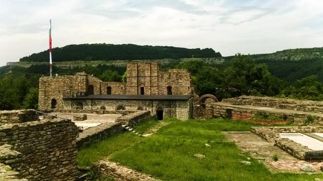 The ruins of the Royal Palace