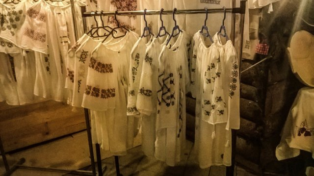 Traditional embroidered blouses
